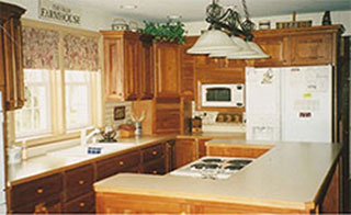 Remodeled Kitchen by Metzner Home Improvement, Dayton, Ohio